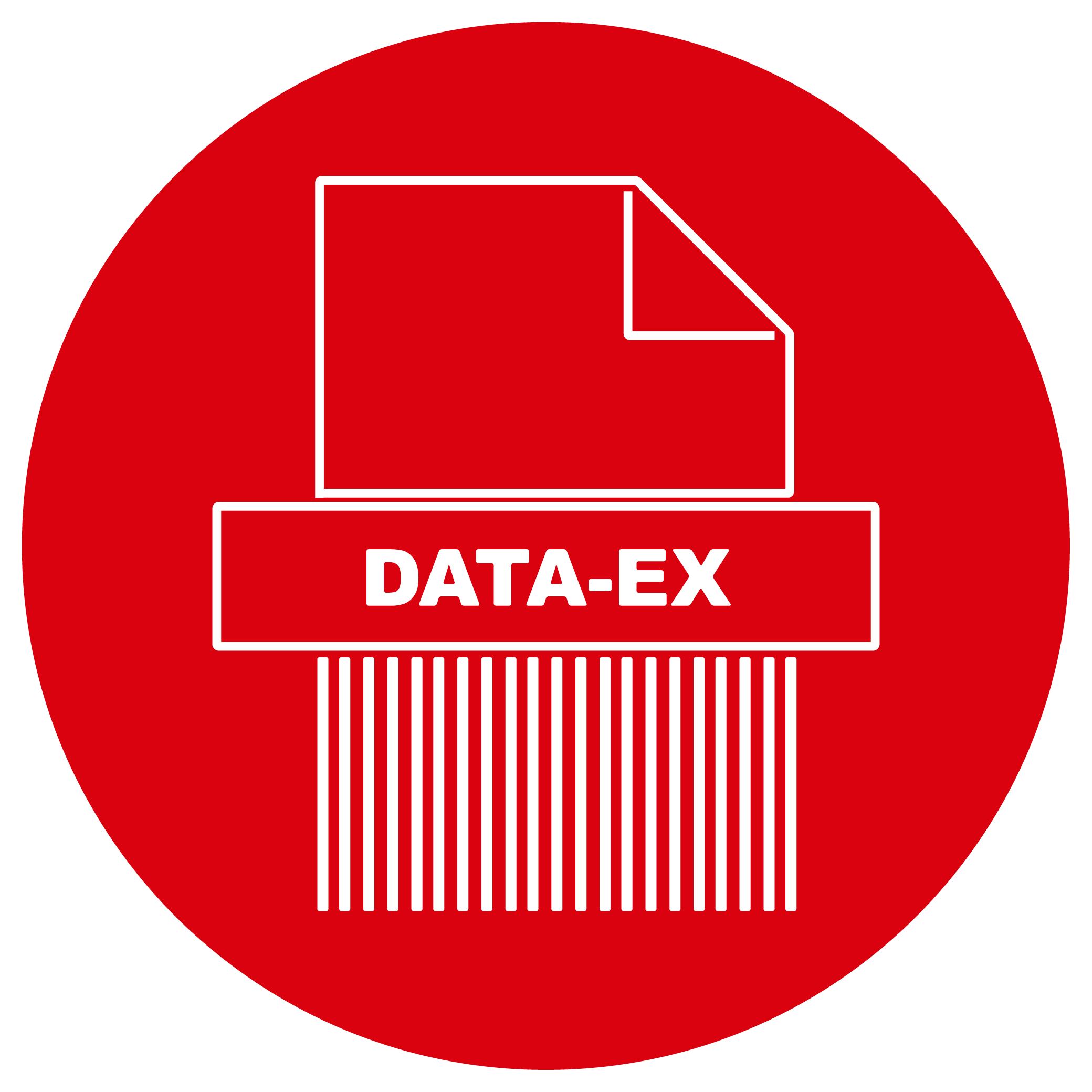 Button Aktenvernichtung DATA-EX