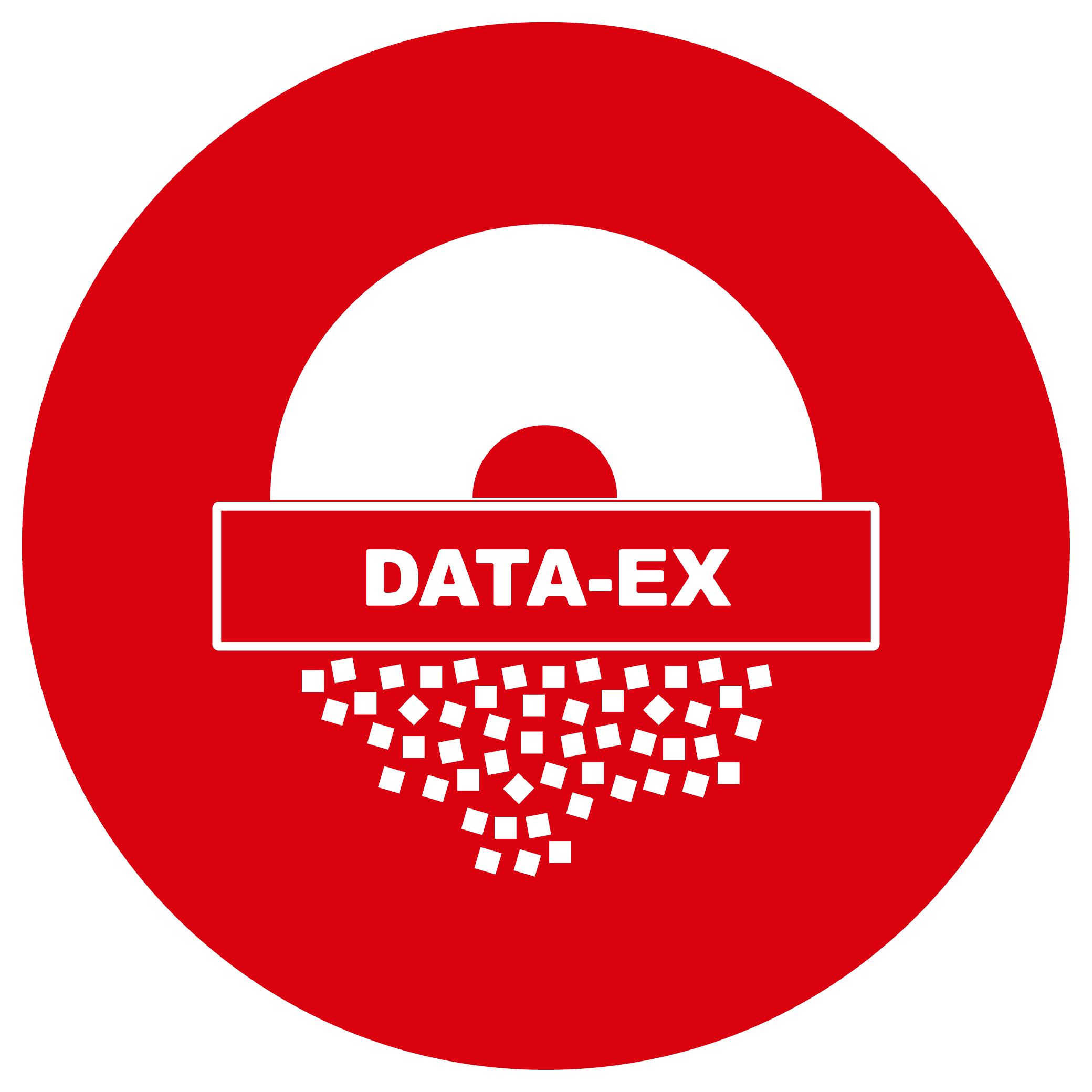 Button Datenträgervernichtung DATA-EX
