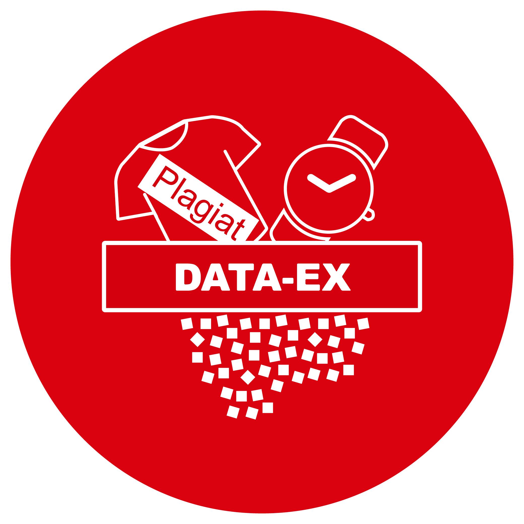 Button Wirtschaftsgutvernichtung DATA-EX